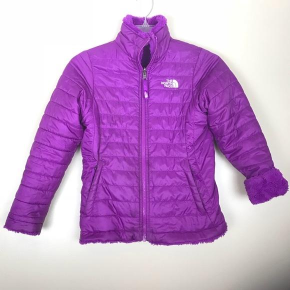 North face girls medium reversible purple puffer. M 5b35915a2e1478b3e786a294 1bf6fcfb4